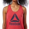 fanelaki reebok sport workout ready supremium logo tank top kokkino m extra photo 5