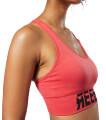 mpoystaki reebok sport workout ready meet you there seamless padded bra kokkino l extra photo 5