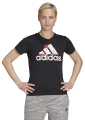 mployza adidas performance floral graphic tee mayri extra photo 2