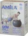 mpala gymnastikis amila gymball kokkini 55 cm extra photo 1