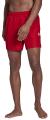 magio adidas performance solid sl shorts kokkino extra photo 3