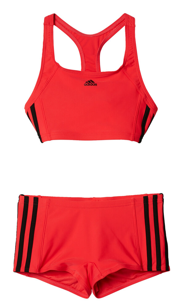 8b4196a11b9 ΜΑΓΙΟ ADIDAS PERFORMANCE INFINITEX 3-STRIPES ONE PIECE ΡΟΖ