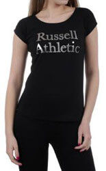 mployza russell crew neck curved bottom tee mayri photo