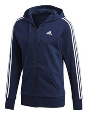 zaketa adidas performance essentials 3 stripes fz hoodie mple skoyro m photo