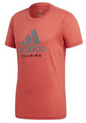 mployza adidas performance adi training tee korali xl photo