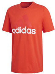 mployza adidas performance essentials tee kokkini l photo