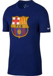 mployza nike fc barcelona crest t shirt mple roya xl photo