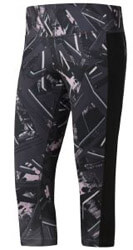 kolan reebok sport workout ready capri allover print staxti m photo
