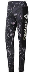 kolan reebok sport workout ready allover print leggings staxti s photo