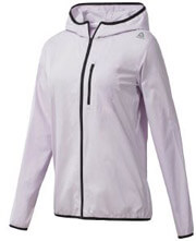 jacket reebok sport workout woven lila s photo