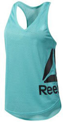 fanelaki reebok sport workout ready mesh tank tirkoyaz m photo