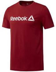 mployza reebok sport logo tee kokkini xxl photo