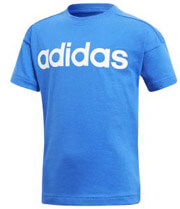 mployza adidas performance little kids linear tee mple photo