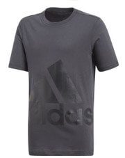 mployza adidas performance essentials big logo tee anthraki photo