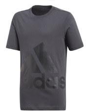mployza adidas performance essentials big logo tee anthraki 164 cm photo