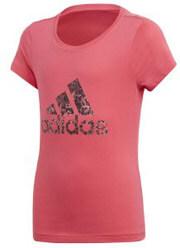 mployza adidas performance essentials logo tee roz photo