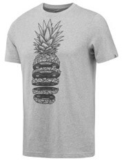 mployza reebok sport pineapple weights tee gkri m photo