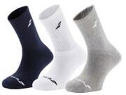 paidikes kaltses babolat sports junior socks 3 pairs polyxromes 31 34 photo