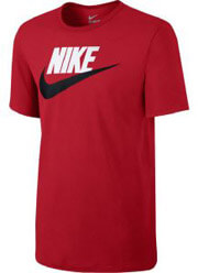 mployza nike sportswear futura icon t shirt kokkini xxl photo