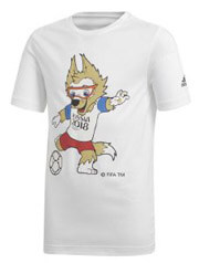 mployza adidas performance fifa world cup mascot tee leyki 140 cm photo