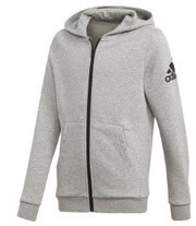 zaketa adidas performance essentials logo fz hoodie gkri photo
