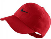 kapelo nike metal swoosh heritage adjustable hat kokkino photo