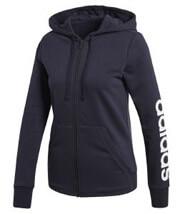 zaketa adidas performance essentials linear fz hoodie mob l photo