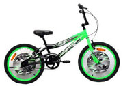 podilato united bike bmx shark 20 prasino mayro photo