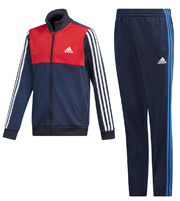 forma adidas performance tibero track suit mple skoyro kokkini 116 cm photo