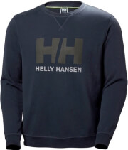 mployza helly hansen hh logo crew sweat anthraki xl photo