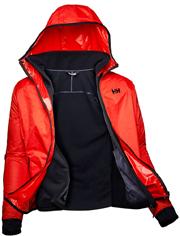 mpoyfan helly hansen scout profleece jacket portokali mayro l photo