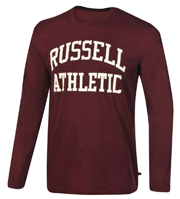 mployza russell athletic ls crewneck logo print byssini photo