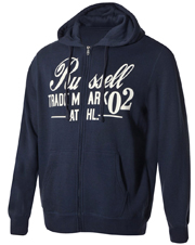 zaketa russell athletic zip through hoody graphic mple skoyro photo