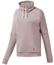mployza reebok sport elements marble funnel neck lila l photo
