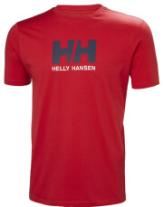 mployza helly hansen hh logo t shirt kokkini photo
