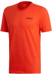 mployza adidas performance essentials plain tee kokkini photo