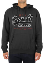 foyter russell athletic usa pull over hoody anthraki xxl photo