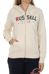 zaketa russell athletic stars zip through hoody ekroy l photo