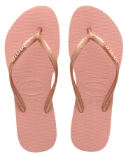 sagionara havaianas slim logo metallic roz xrysafi 35 36 photo