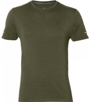 mployza asics seamless s s tee xaki l photo
