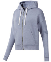 zaketa reebok sport training essentials sweatshirt lila l photo