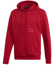 foyter adidas performance must haves badge of sport hoodie maron photo