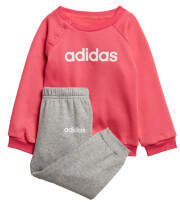 set adidas sport inspired linear fleece jogger set roz gkri photo