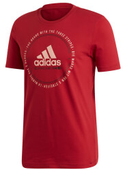 mployza adidas performance must haves emblem tee maron xxl photo