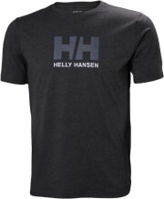 mployza helly hansen hh logo t shirt anthraki melanze xl photo
