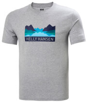mployza helly hansen nord graphic t shirt gkri melanze s photo