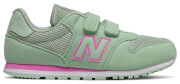 papoytsi new balance classics youth 500 thalassi roz usa 3 eu 35 photo