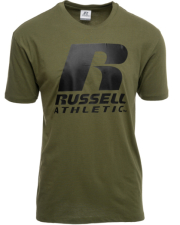 mployza russell athletic r s s crewneck tee xaki l photo