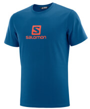 mployza salomon coton logo tee mple m photo