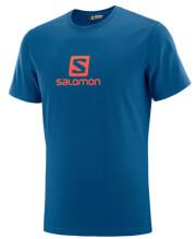 mployza salomon coton logo tee mple xl photo